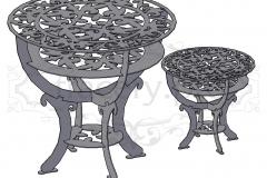 Столики из металла