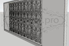 Орнамент на ворота1