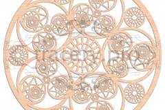Круглый орнамент 92
