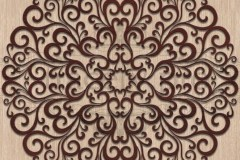 Круглый орнамент 11