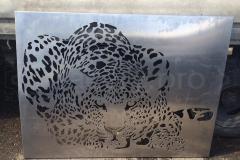 Панно Леопард