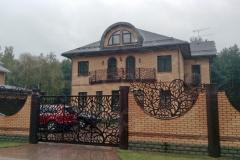 Ворота, забор, балкон