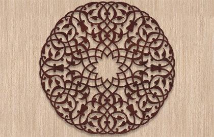 Круглые орнаменты